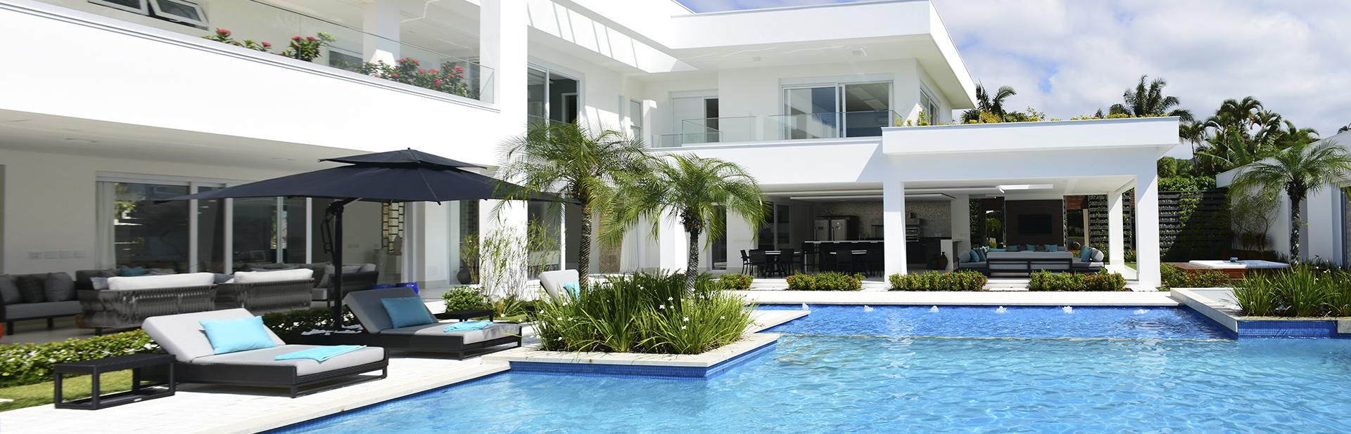 Jardim Acapulco Guarujá, imóveis de luxo com arquitetura diferenciada.